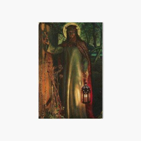 William Holman Hunt The Light of the World Art Board Print