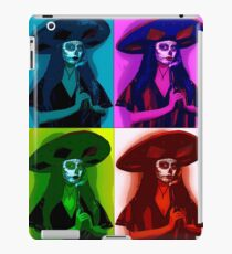 sombrero girl iPad Case/Skin