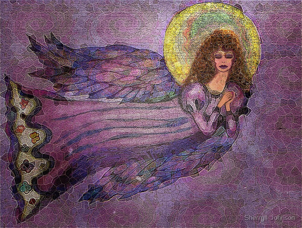 Electric Angel by Sherryll  Johnson