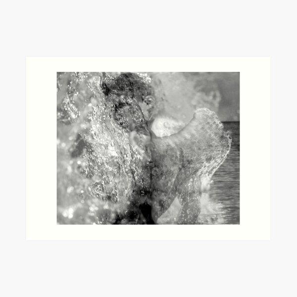 Water Angel Excerpt 99 Art Print