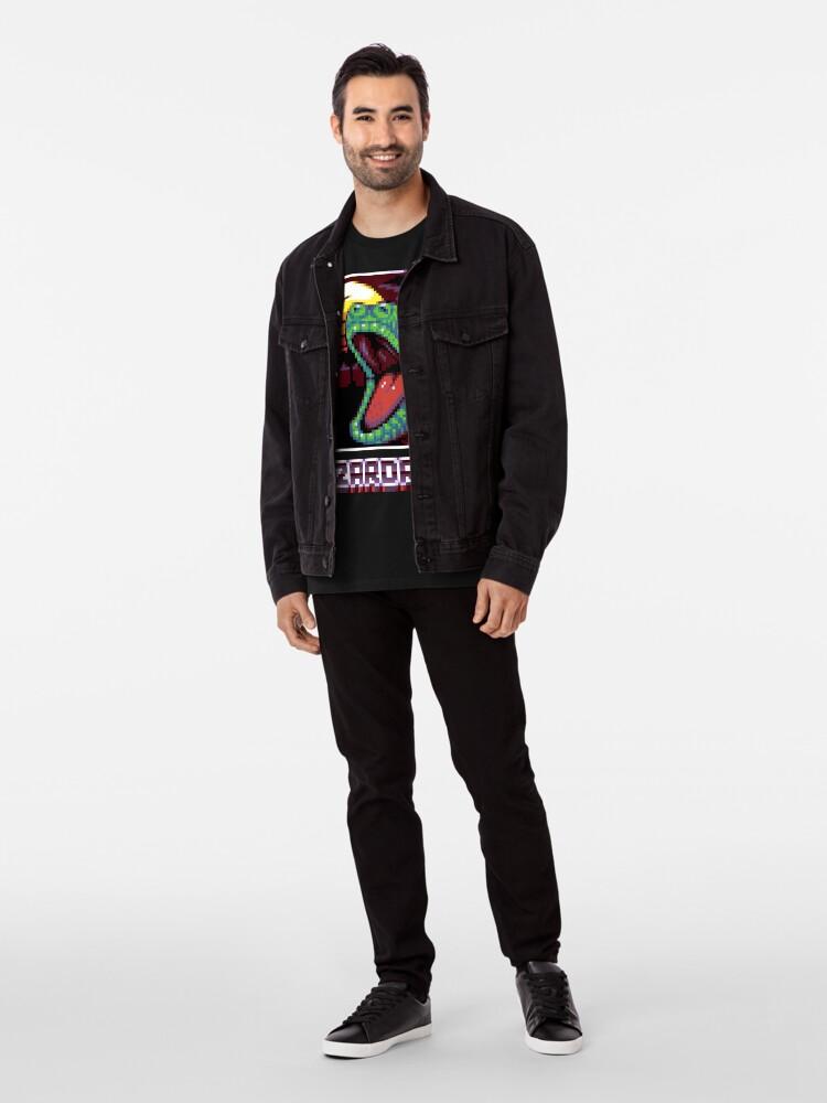 T-shirt premium ''LIZARDRIVE': autre vue