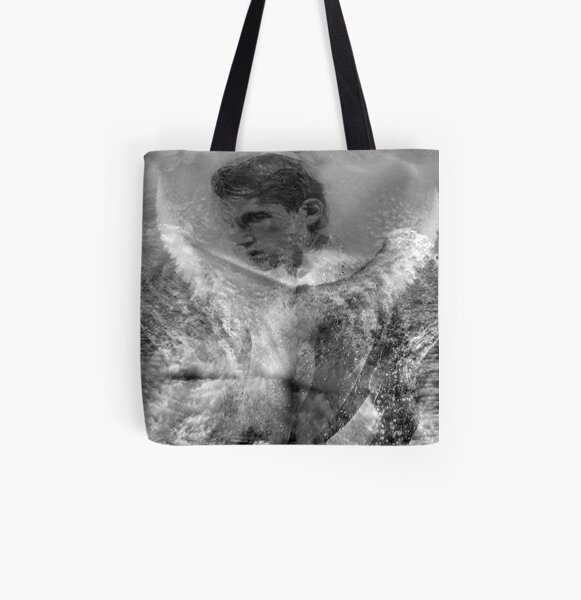 Water Angel Excerpt 101 All Over Print Tote Bag