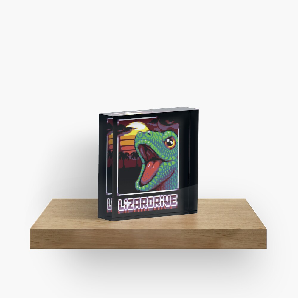 Bloc acrylique «LIZARDRIVE»