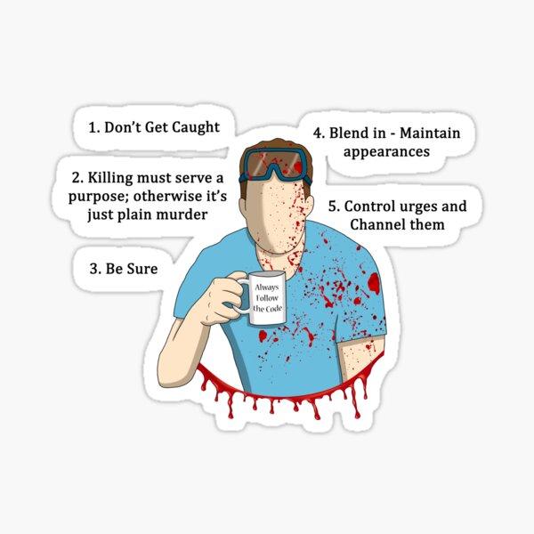 Always follow the code Sticker