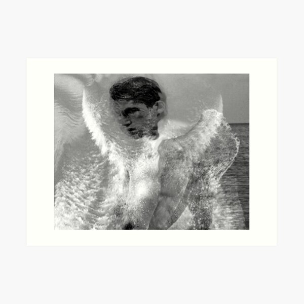 Water Angel Excerpt 102 Art Print
