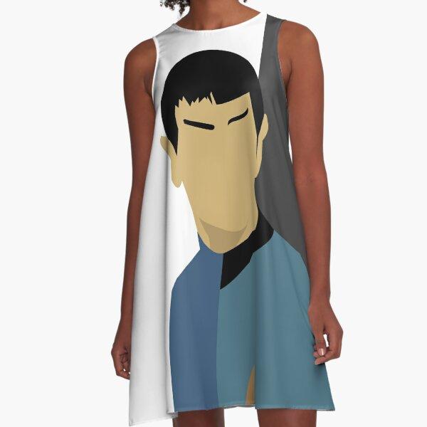 Spock Torn A-Line Dress