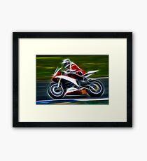 Motorbike Framed Print