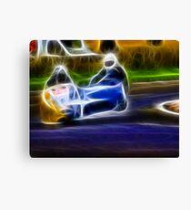 Sidecar Racing Canvas Print