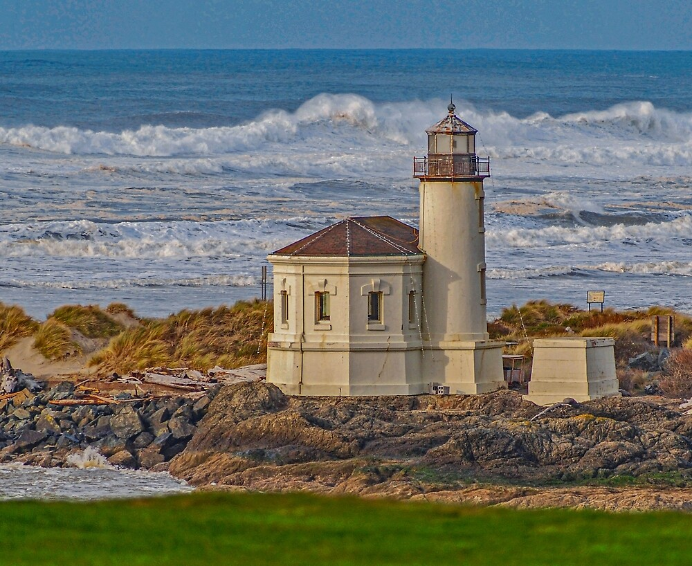 Coquille River Lighthouse by Bryan Spellman