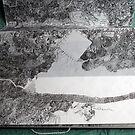 Carte blanche pour un stylo en bout de course (détail) by Pascale Baud