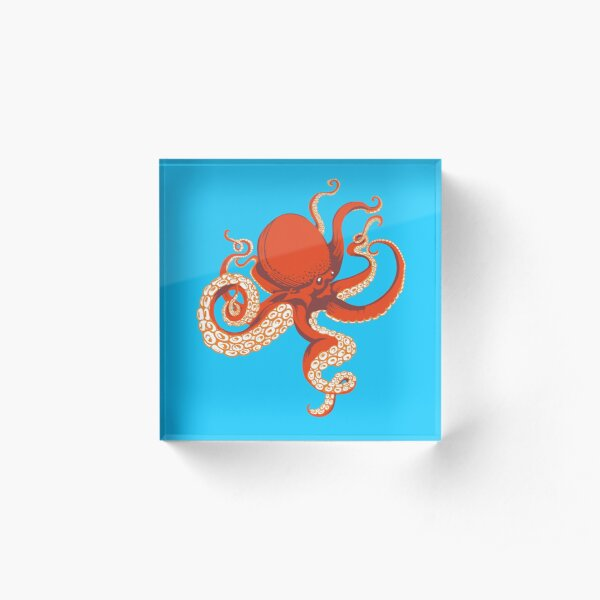 Octopus Acrylic Block