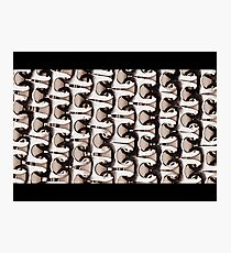 Metallic Knit Photographic Print