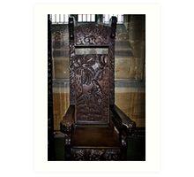 Chair for Hymn Art Print