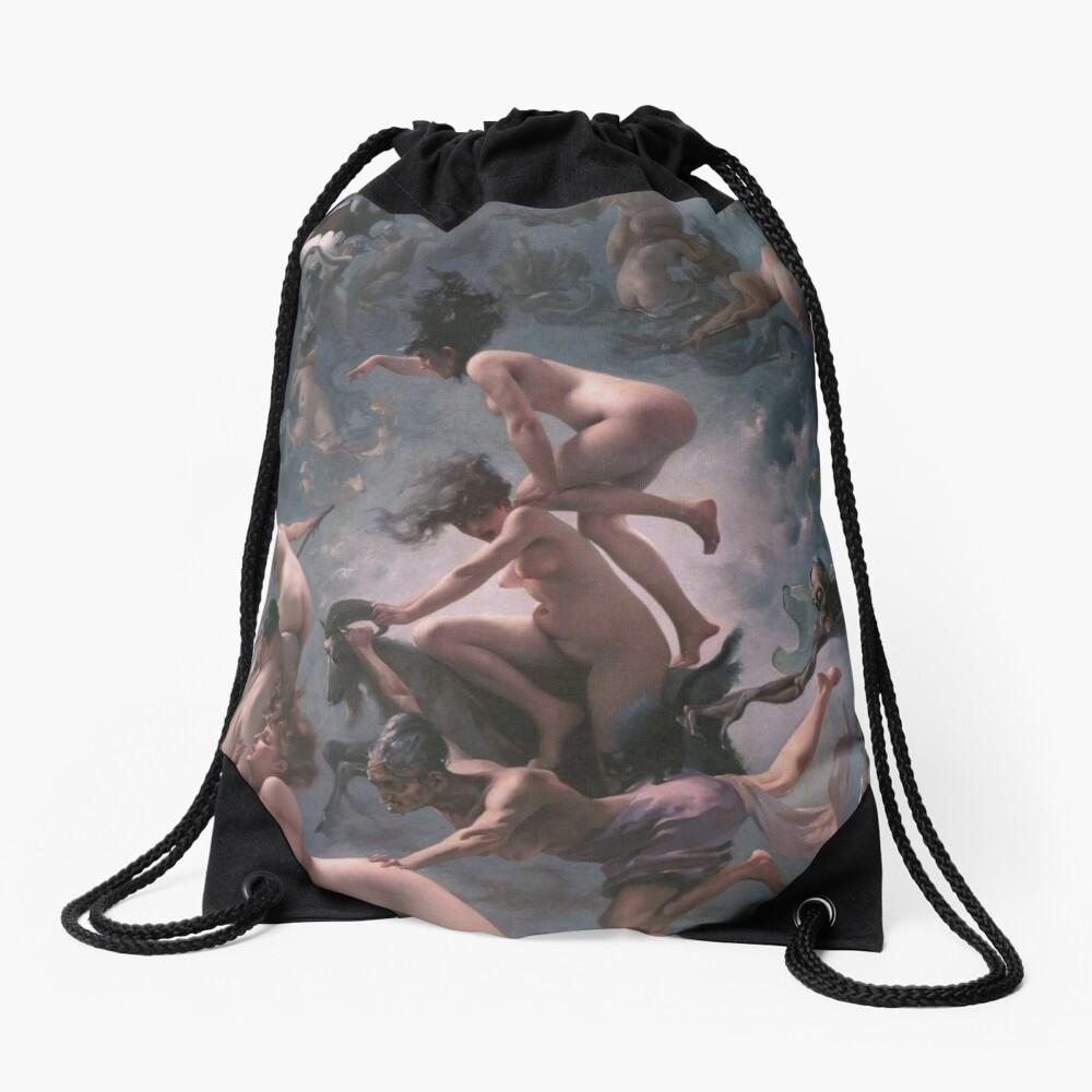 Witches Going To Their Sabbath,  drawstring_bag,x1000-pad,1000x1000,f8f8f8