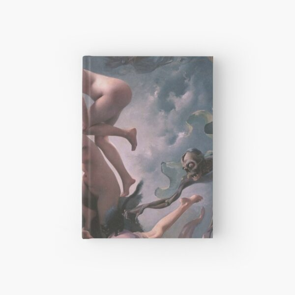 Luis Ricardo Falero - Witches going to their Sabbath (1878) Hardcover Journal