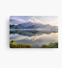 Lake and Mountains II Metal Print