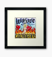 Ivy Love Catching Fire Framed Print