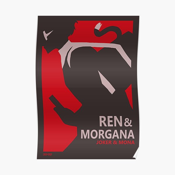 Ren& Morgana Minimalistic Poster