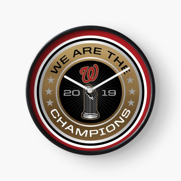We Are the Champions™ World Series Clock