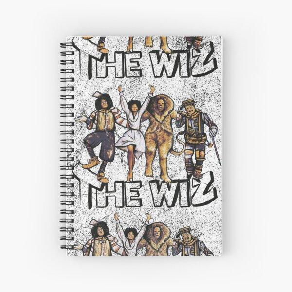 Grungy Wiz Spiral Notebook