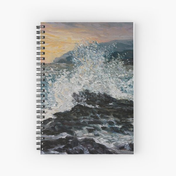 Point No Point Mid-storm Spiral Notebook