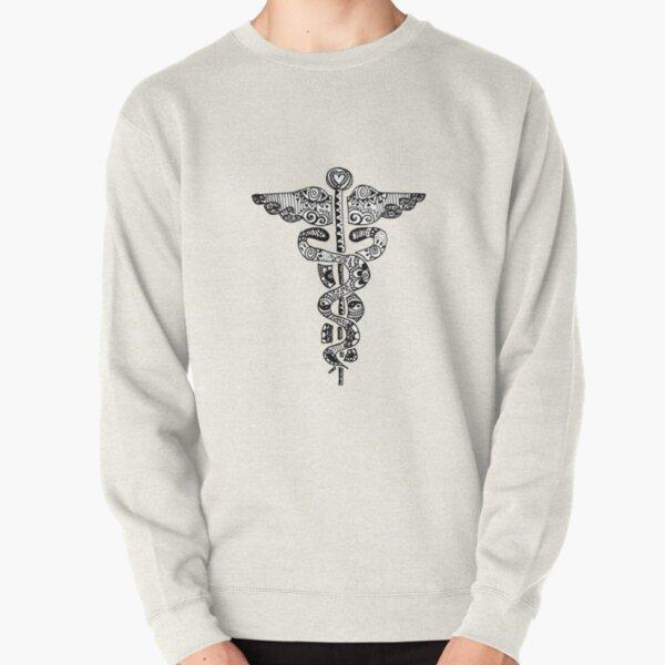 Registered Nurse Zentangle Pullover Sweatshirt