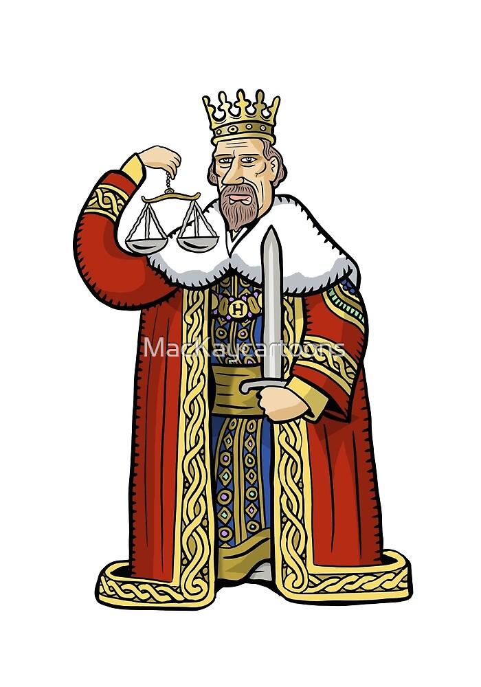 King Henry II by MacKaycartoons