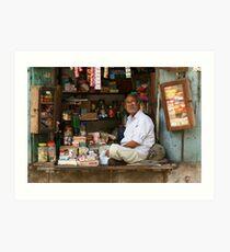 The Shopkeeper Art Print