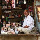 The Shopkeeper by David Reid