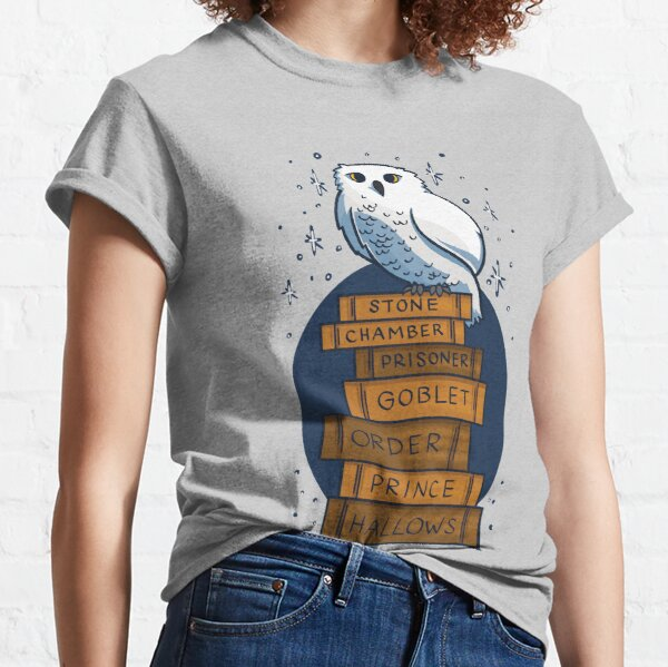 An Owl with the Books Classic T-Shirt