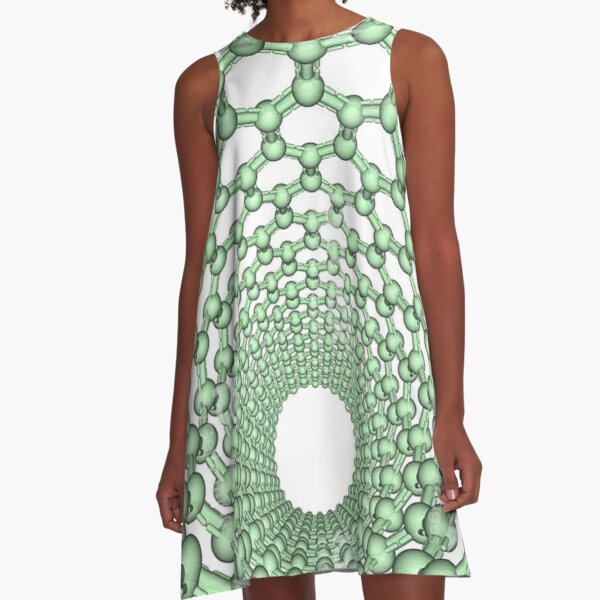 Thanks for watching science, Carbon nanotube A-Line Dress