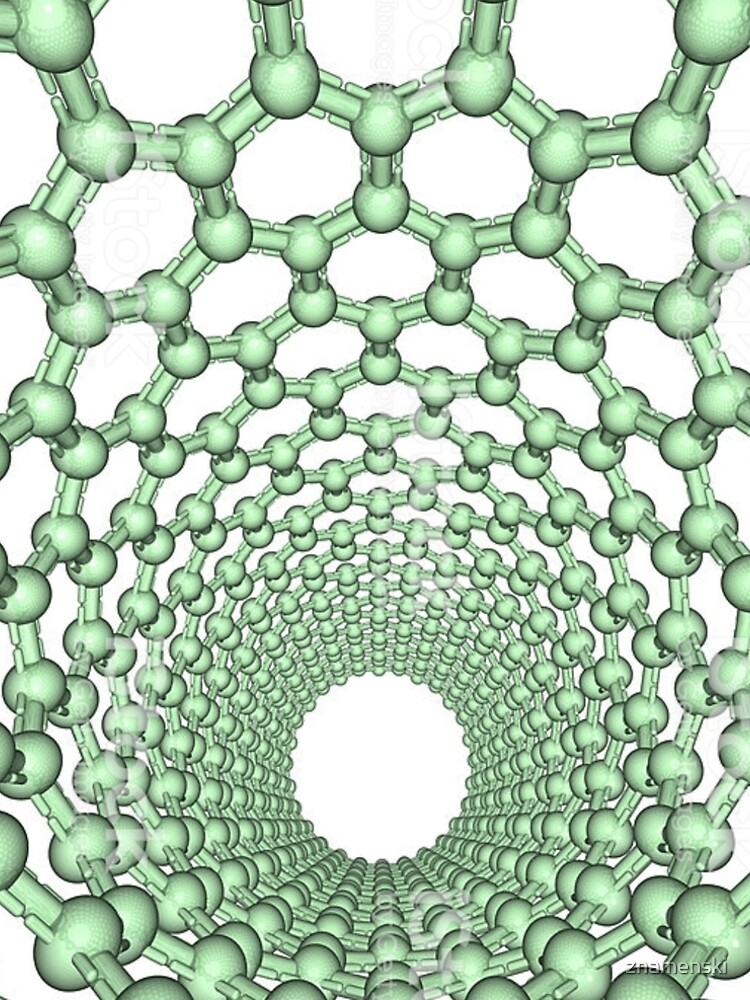 Thanks for watching science, Carbon nanotube by znamenski