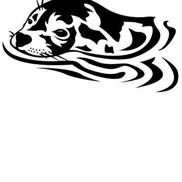 Swimming Seal by nickbiancardi