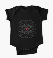 Infinity Love Pattern Kids Clothes