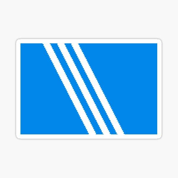3 Stripes Box Lid Sticker