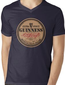 Old Style Guinness Logo - David Gilmour Mens V-Neck T-Shirt