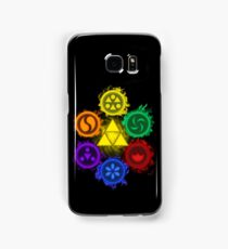 Legend of Zelda - Ocarina of Time - The 6 Sages Samsung Galaxy Case/Skin