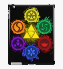 Legend of Zelda - Ocarina of Time - The 6 Sages iPad Case/Skin