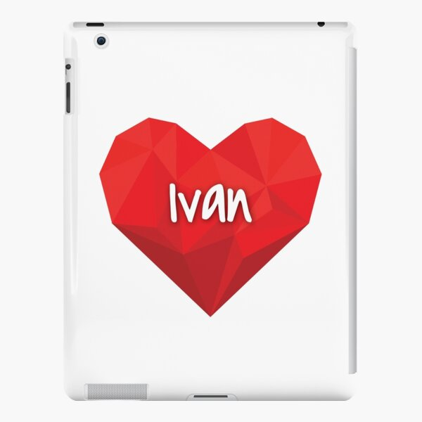 Ivan in My Love Heart Forever  iPad Snap Case