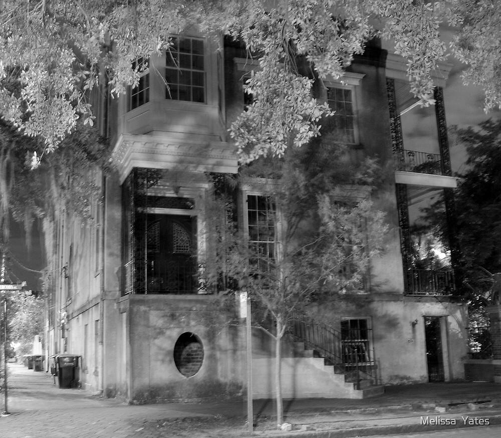432 Abercorn, Savannah Georgia by Melissa  Ousley