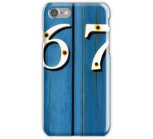 """Vintage Blue"" iPhone Case/Skin"