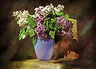 Still-life with a lilac by VallaV