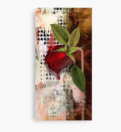 As the Rose Weeps Canvas Print