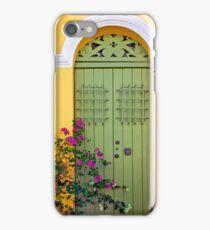 San Juan doorway iPhone Case/Skin