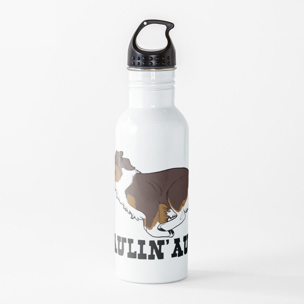 HAULIN' AUSS (red tri) Water Bottle