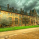 The Meadow Building Christ Church Oxford by John Hare
