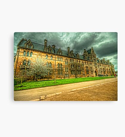 The Meadow Building Christ Church Oxford Canvas Print