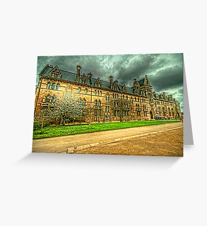 The Meadow Building Christ Church Oxford Greeting Card