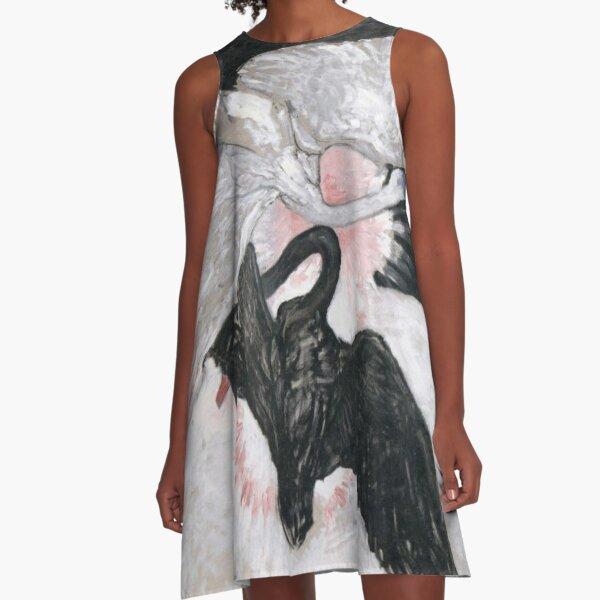 Hilma af Klint The Swan No. 02 Group IX SUW A-Line Dress