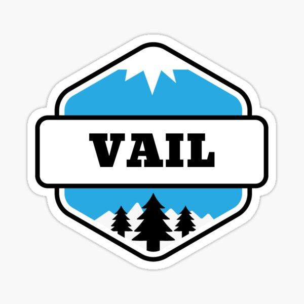 Vail, Colorado Mountain and Ski Sticker